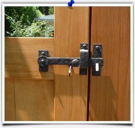 Best Garage Door Lubricant >> Outdoor Gate Hardware Locks | Shapeyourminds.com