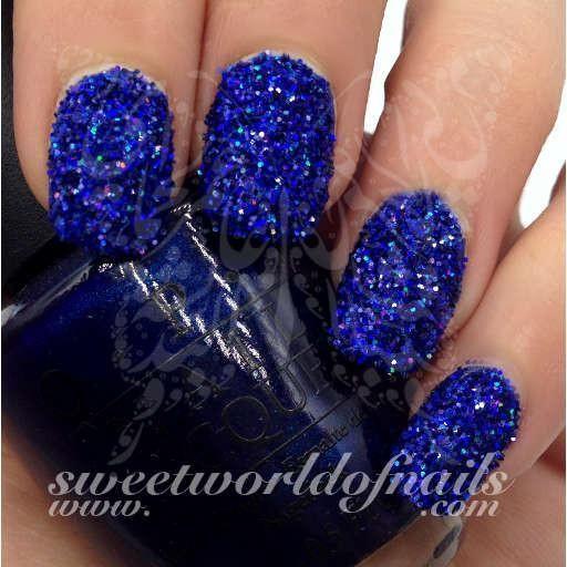 Nail Glitter Blue Sparkle Glitter Dust Powder Nail Art Pinterest