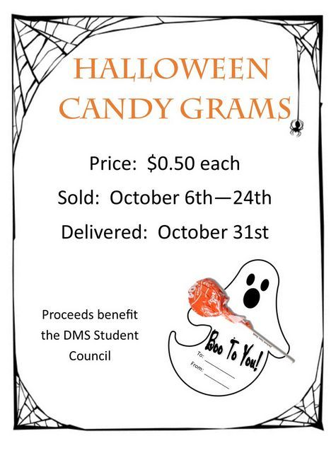 PTO Today New Halloween Candygram Fall Events