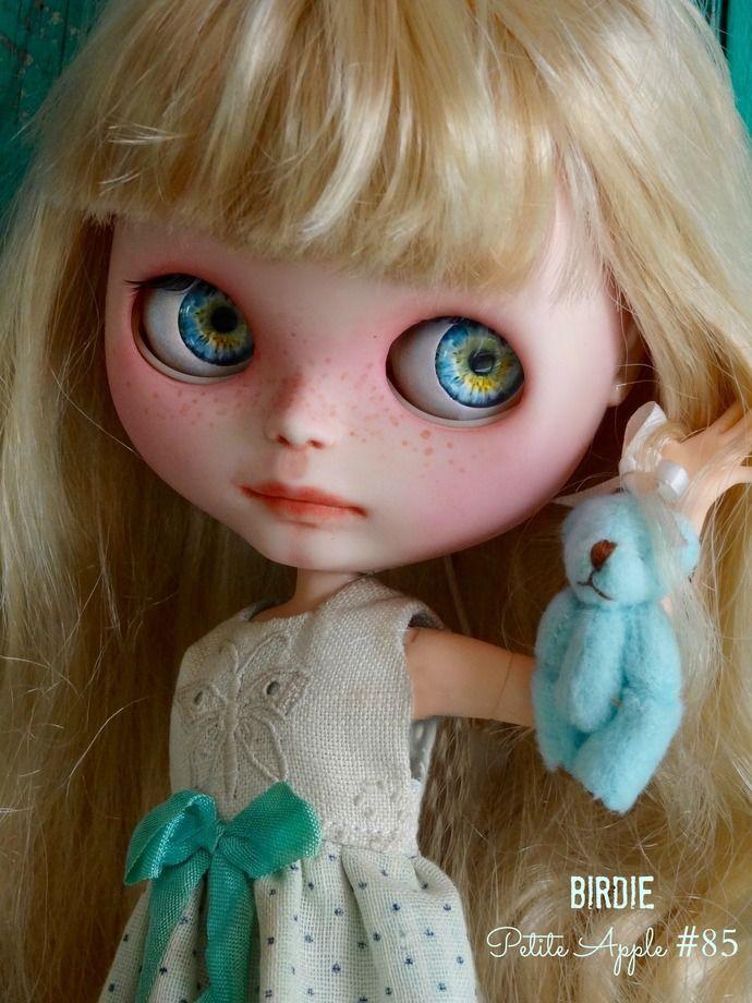 Custom BLYTHE doll - BIRDIE by Marina, Petite Apple