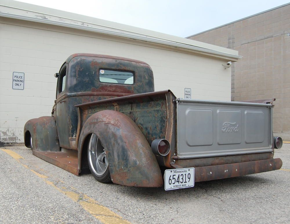 1946 Ford Rat Rod With Ls1 Trucks Rat Rod Rat Rods Truck