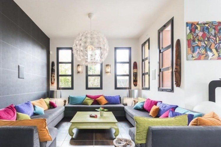 Déco salon moderne pour une atmosphère chaleureuse | Salon ...