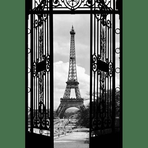 Brewster Dm644 La Tour Eiffel 1990 Wall Mural Black Eiffeltoren Parijs Poster Muurkunst