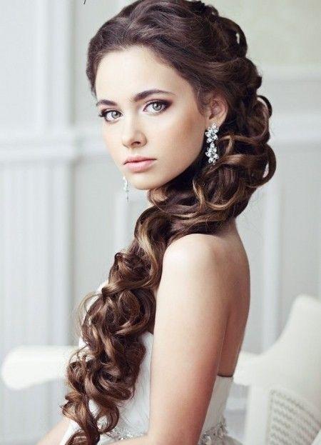 27 peinados para novias con melena belleza foro bodas - Peinados de boda semirecogidos ...