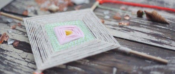 kite/gods eye craft