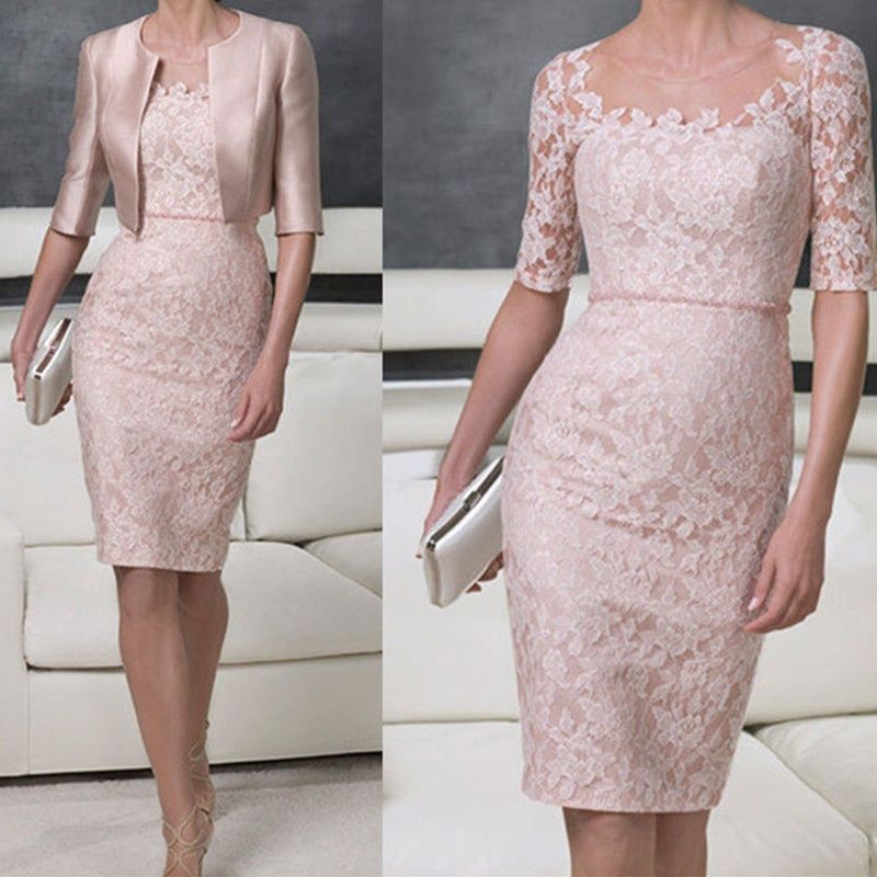 Cheap Elegante festoneado cuello mujeres del vestido Vestidos de ...