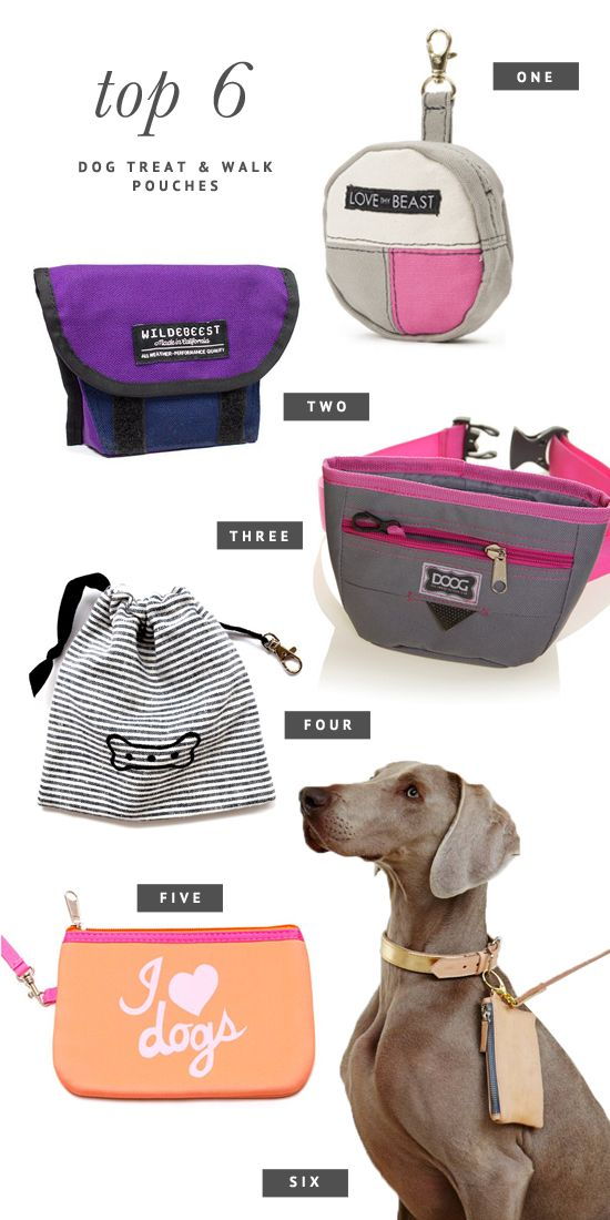 6 Of The Best Dog Treat Pouches Cute Clutches To Hold Your Keys