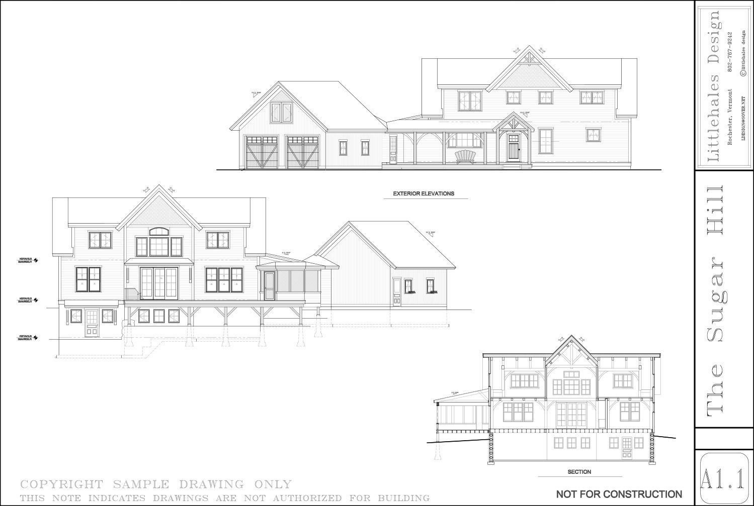 The Sugar Hill | Vermont Frames | House plans | Pinterest | Sugaring ...