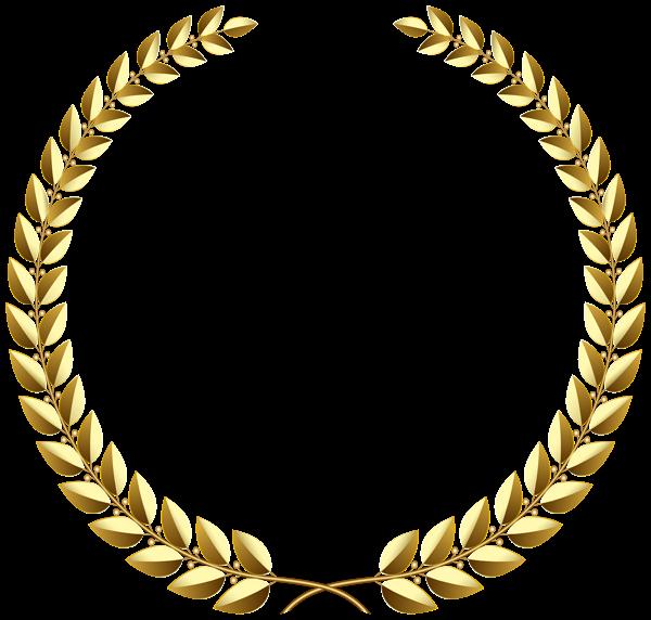Golden Wreath Transparent Png Clip Art Image Golden Wreath Art Images Clip Art