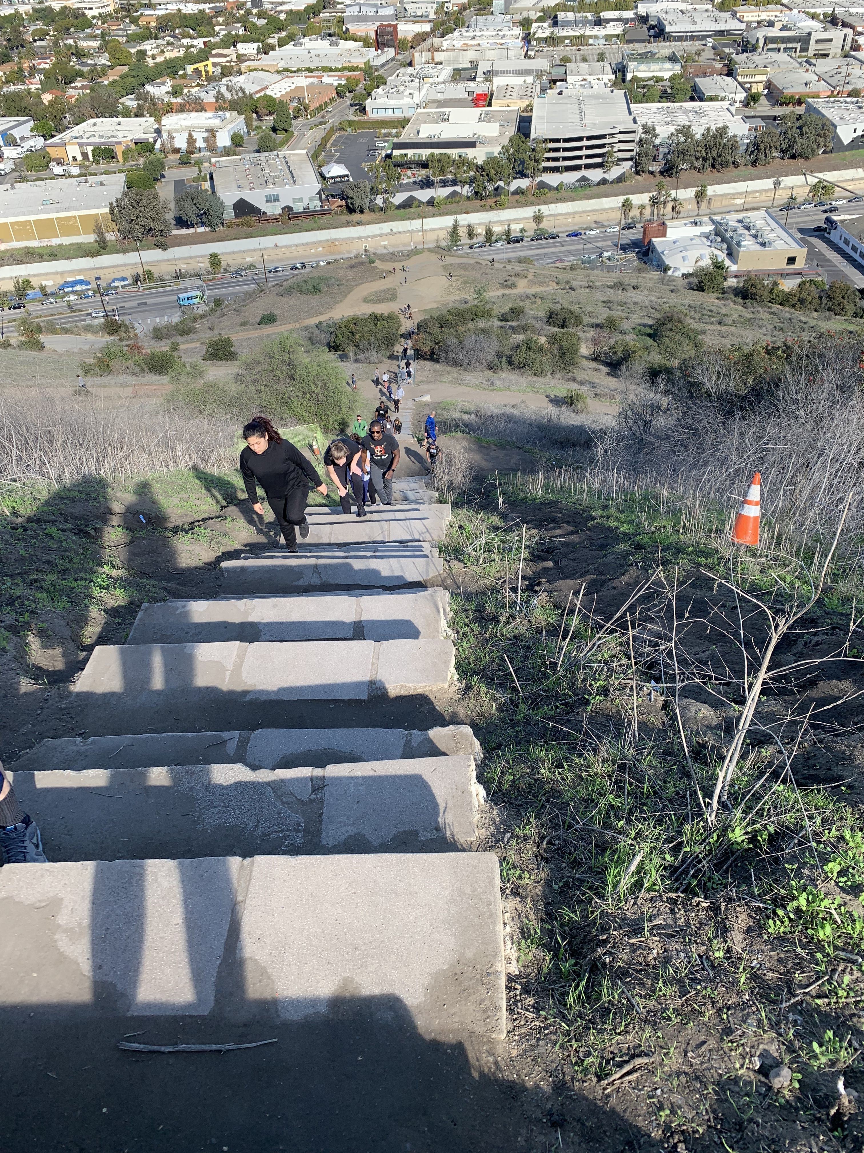 And Here We Go Again Culver City Stairs Baldwin Hills Los Angeles California Culver City Stairs Places To Travel Los Angeles