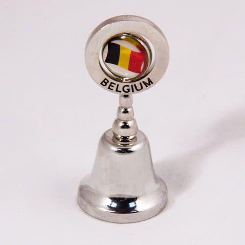 Decorative Bells Decorative Bell Belgiumflag Of Belgium Metal Small