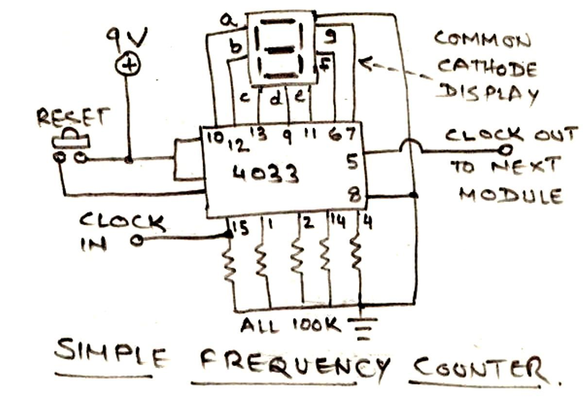 The Post Discusses A Simple 1 To 10 Minute Adjustable Timer Circuit 7 Segment Clock Diagram With