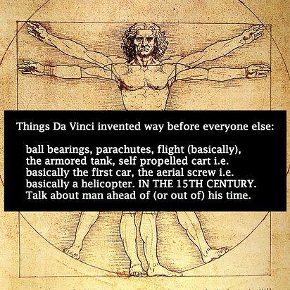Leonardo Da Vinci | 12 Pop Culture Icons Who Are Probably Time Lords