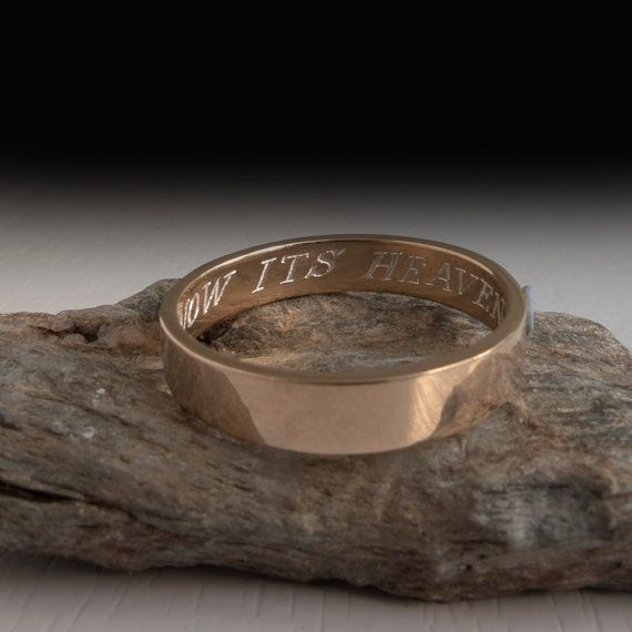 Gift for bride and groom wedding bands