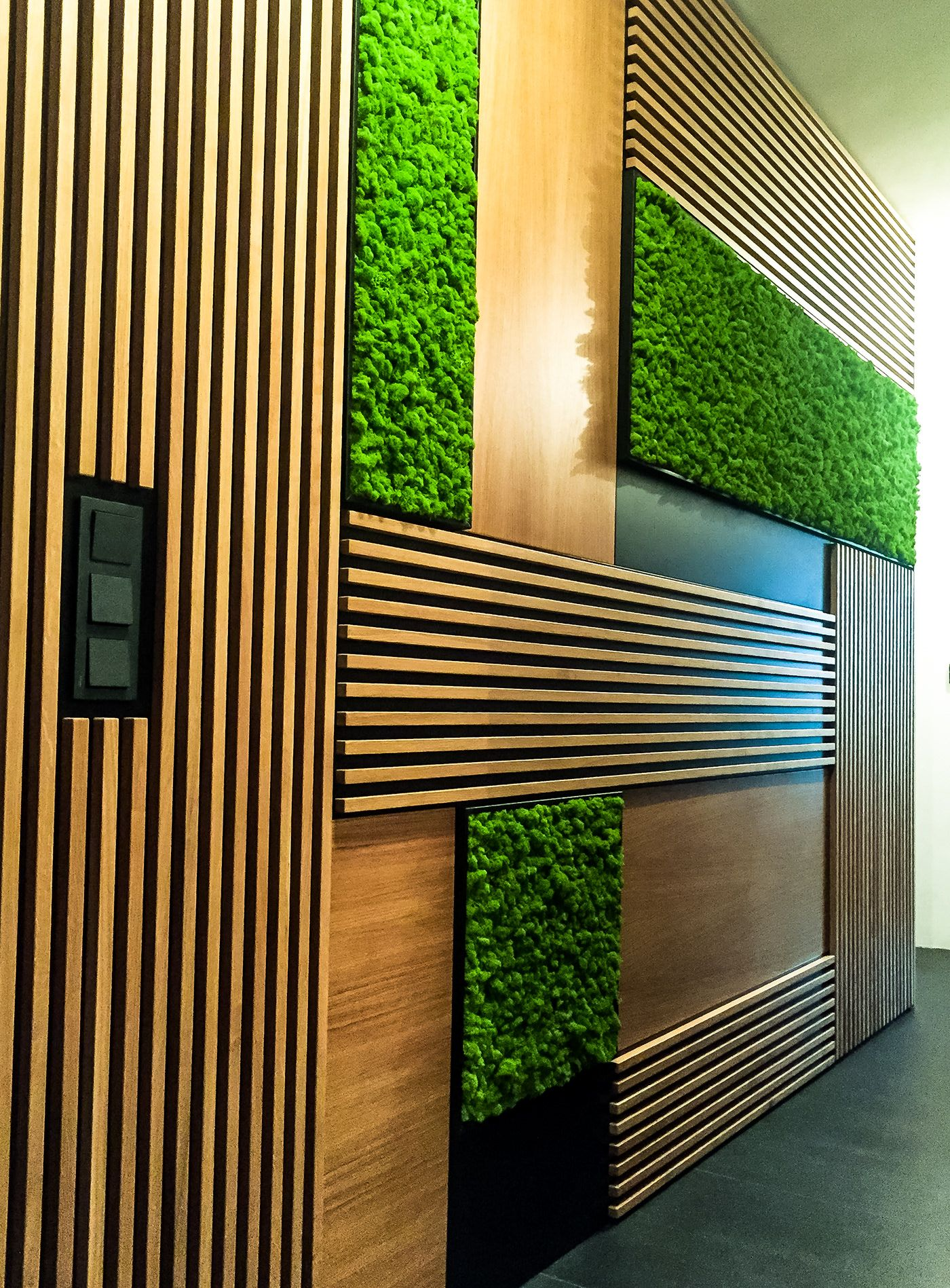 stunning office interior design wall art | 3Dea Portfolio -Scandinavian Moss on Behance in 2019 ...