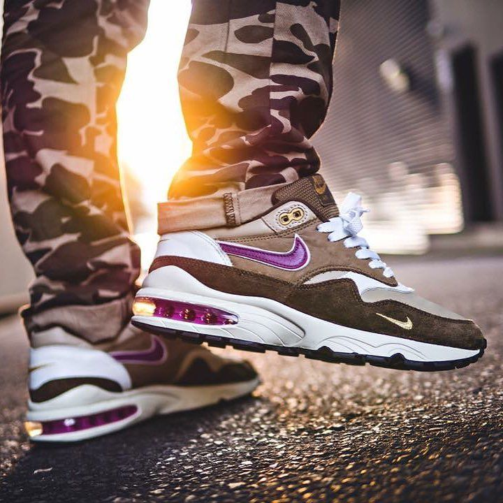 new concept a62e1 da697 #SADP : Nike Air Max Hybrid 93 Viotech Custom by @lucasblackman Use the  hashtags #SADP and #SneakersAddict for a feature!