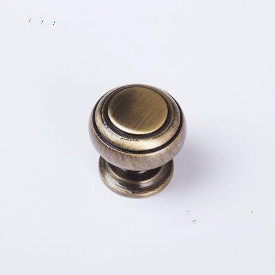 30mm drawer knob antique brass kitchen cabinet door handle bronze ...