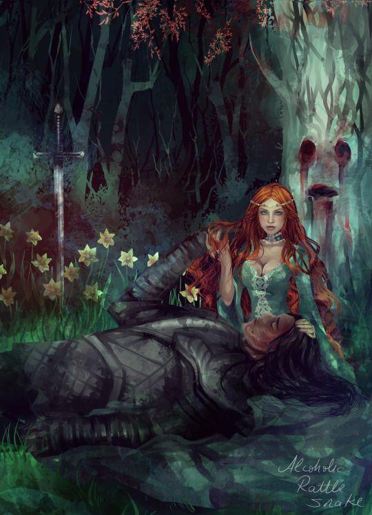Fantasy Hound Warrior Art
