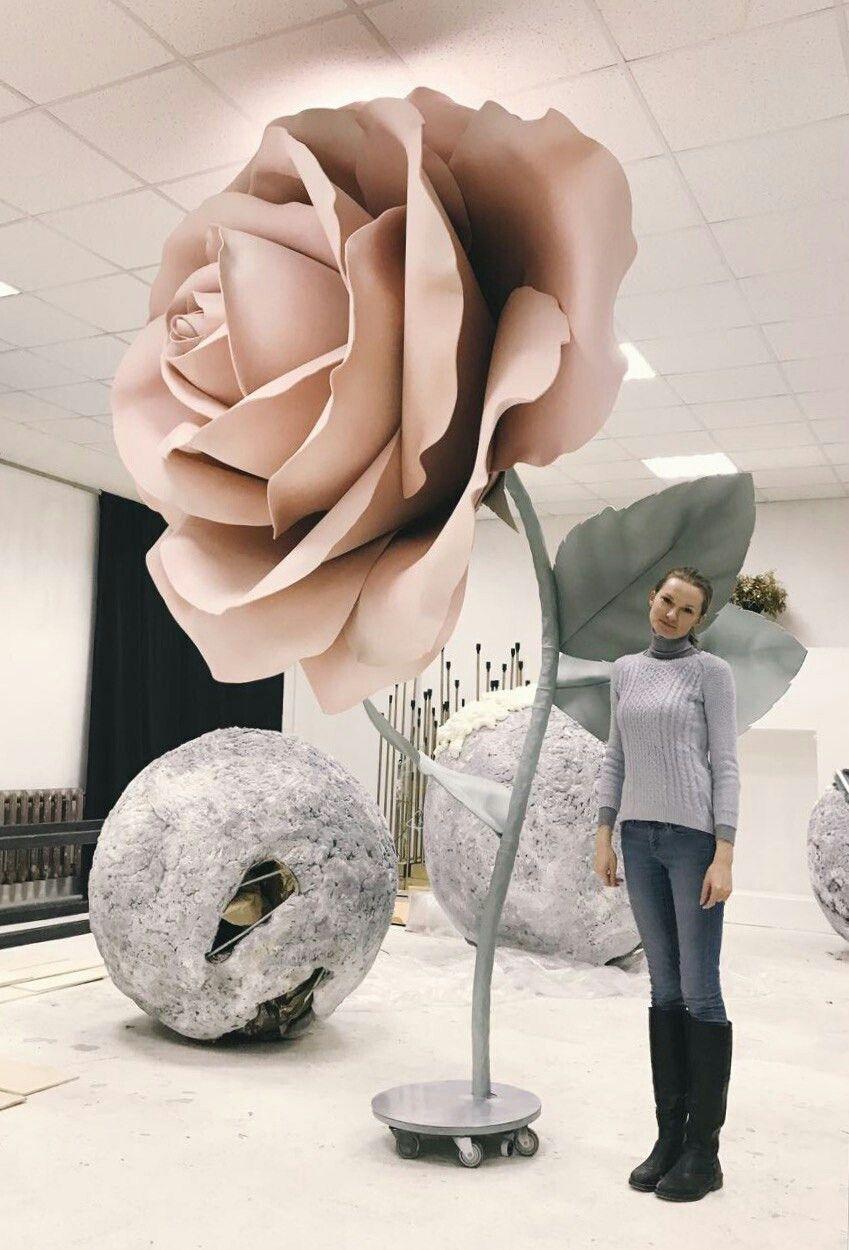 Self Standing Flower Giant Flower Giant Flowers Giant Flowers