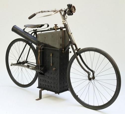 La bicicleta / motocicleta a Vapor Roper 1896