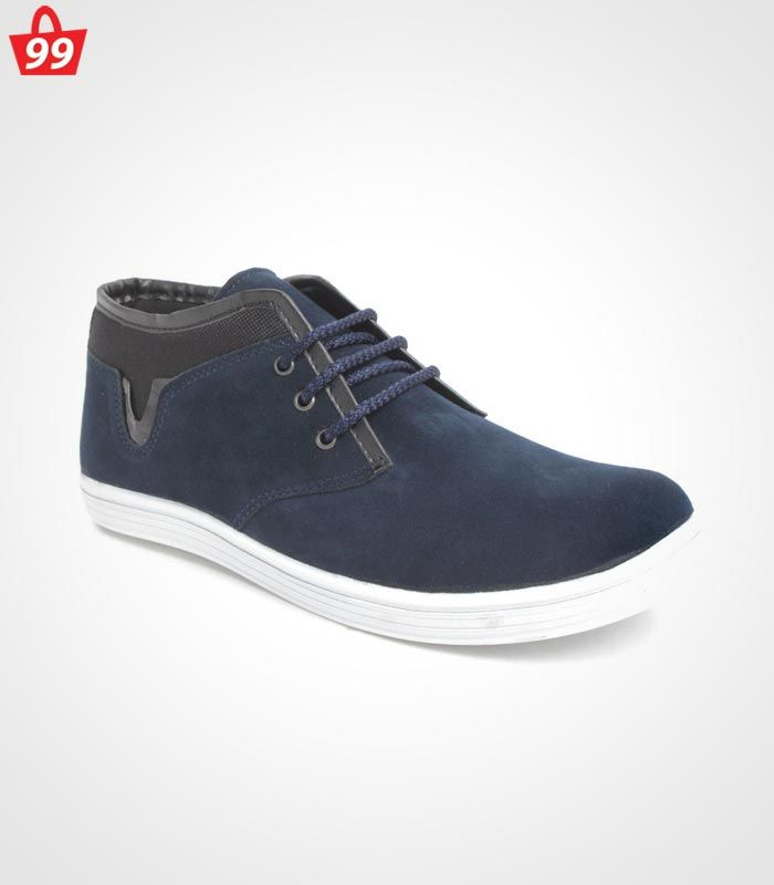 Step in #Style with ultimate pick of this season when you adorn this pair of Bacca Bucci Canvas Blue Casual Shoes