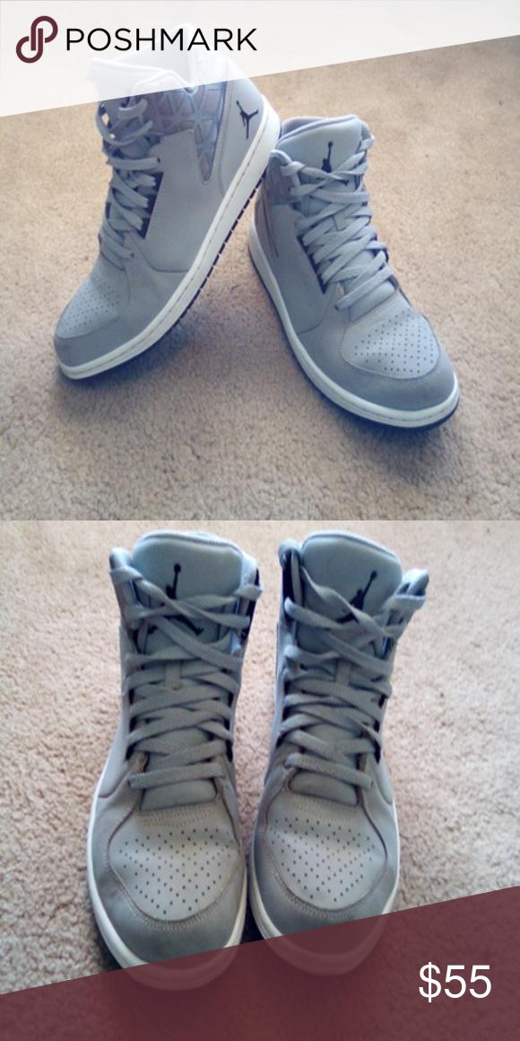 1ba5c4a3649 Jordan 1 Flight 3 Size 9.5 Wolf/Grey Black/White Jordan Shoes Sneakers