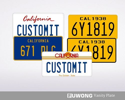 california custom ca license plates for personalized license plates