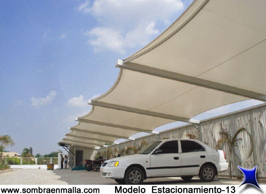 Estacionamiento velarias pinterest estacionamiento for Toldos para estacionamiento