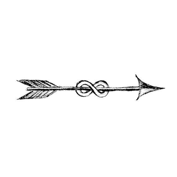 Infinity Arrow Temporary Tattoos Small Arrow Tattoos Bachelorette