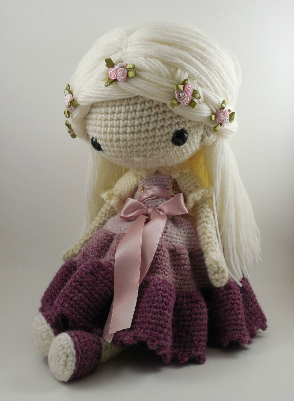Victoria - Amigurumi Doll Crochet Pattern PDF | Gehäkelte puppen ...