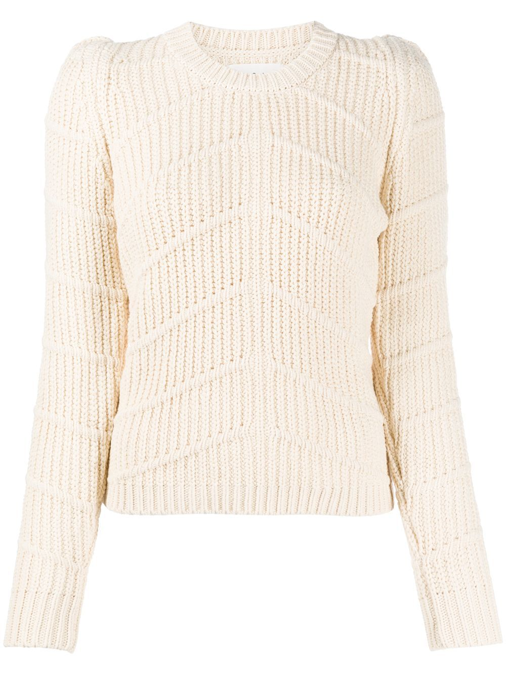 Ba&Sh Dabney chunky-knit jumper - NEUTRALS