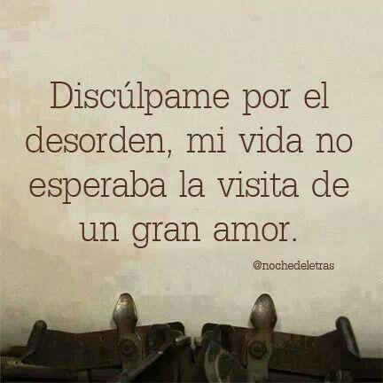 El Amor Como Siempre Amor Inesperado Frases De Amor Y