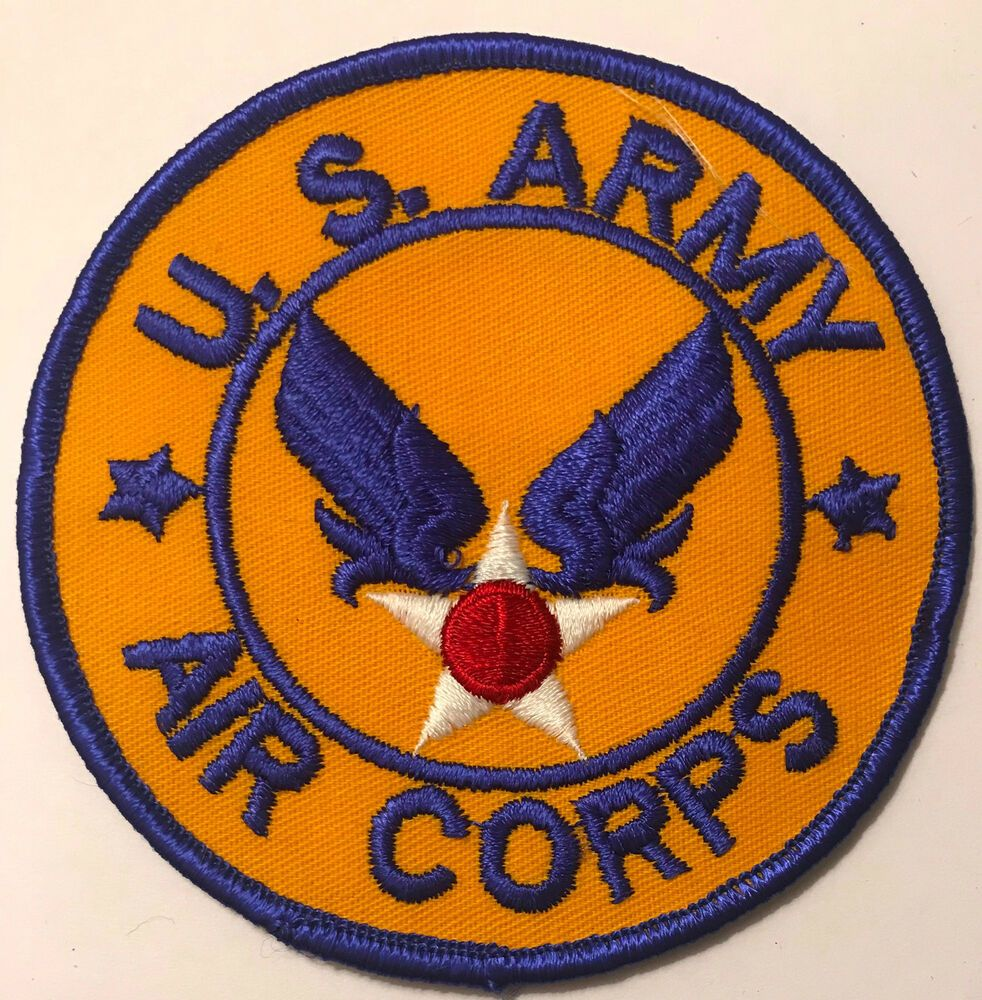 US Army Air Corps Patch eBay Air force patches, Us
