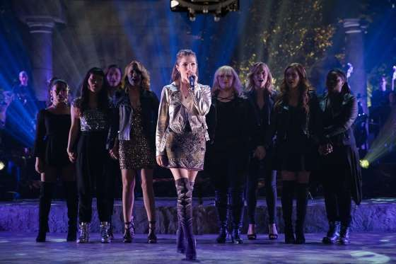 """Anna Kendrick returns to the role for which she's best known -- Beca Mitchell -- in """"Pitch Perfect 3... - Universal Pictures/."""