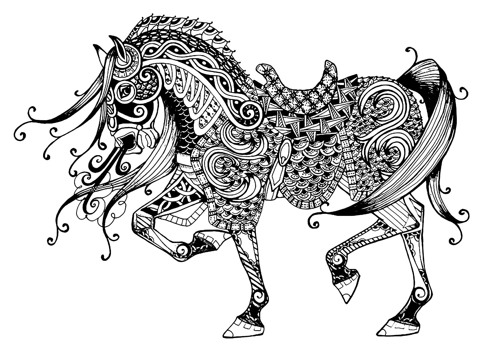 Here Are Plex Coloring Pages For Adults Of Animals Different