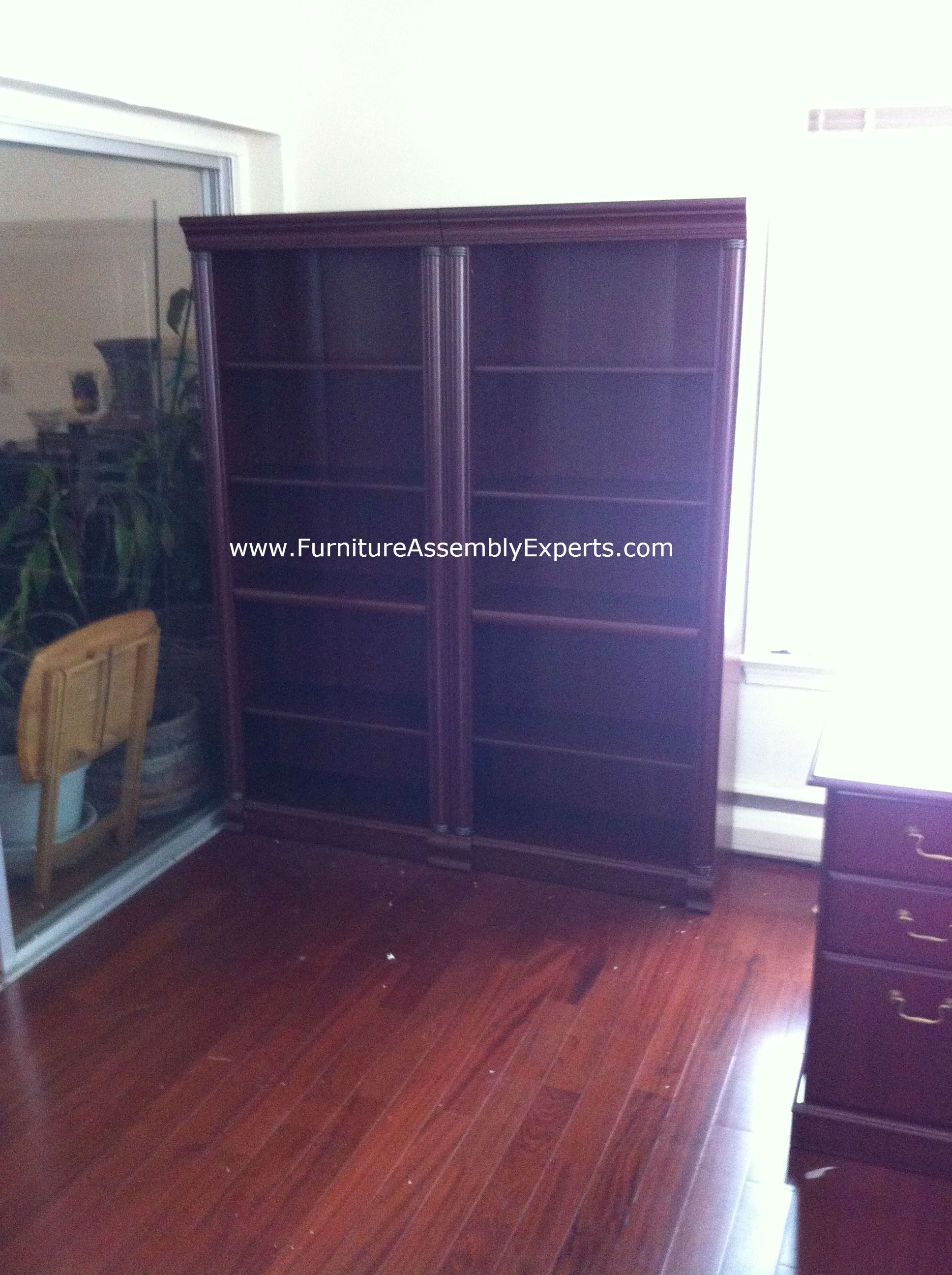 Office Depot Bookcase Assembled At Loyola University Campus