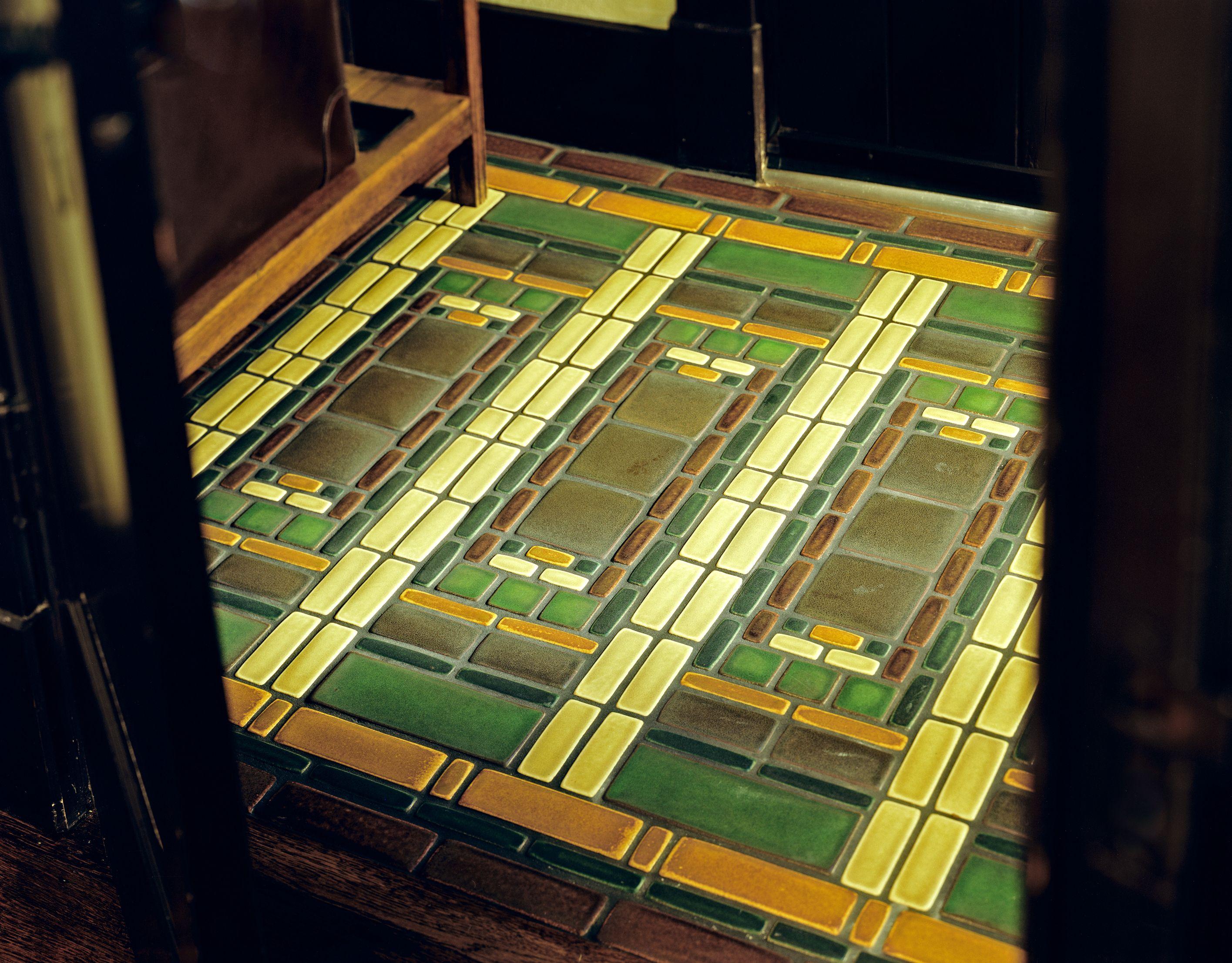 Mosaic Tile Floor By Motawi Tileworks In 2020 Master Bath Design