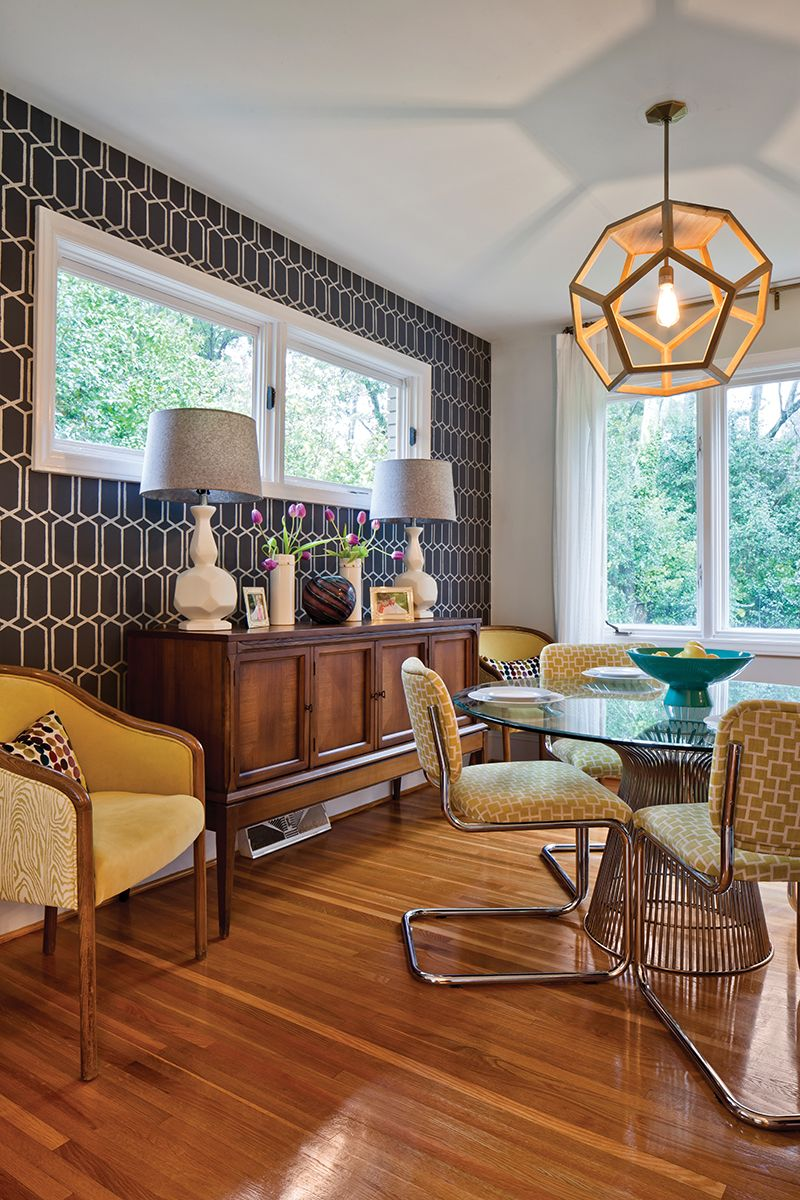 Home interior design dining room west coast modernism meets southern charm  home  garden  january