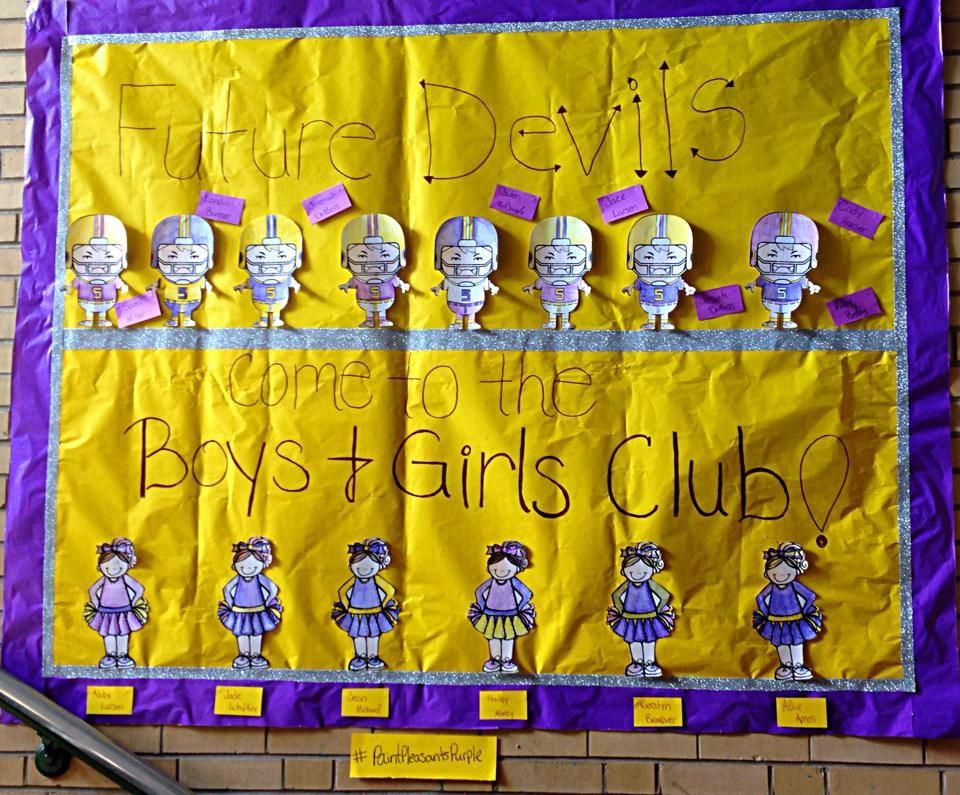 Boys and Girls Club of Pleasants County #PurplePride