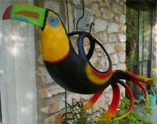 Blog Ambiente de Luz: Vaso de plantas feito com pneu reciclado