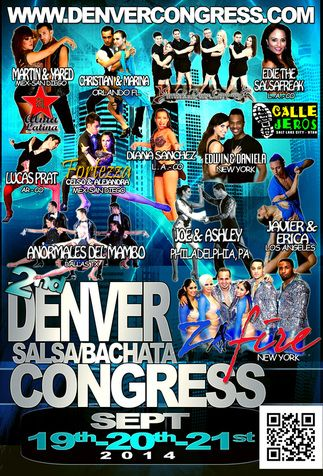 Denver is hosting a salsa and bachata congress in September. Don't miss it!