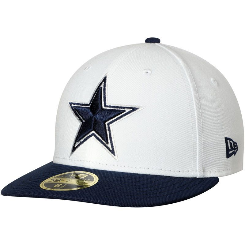 Dallas cowboys new era omaha ii low profile 59fifty fitted