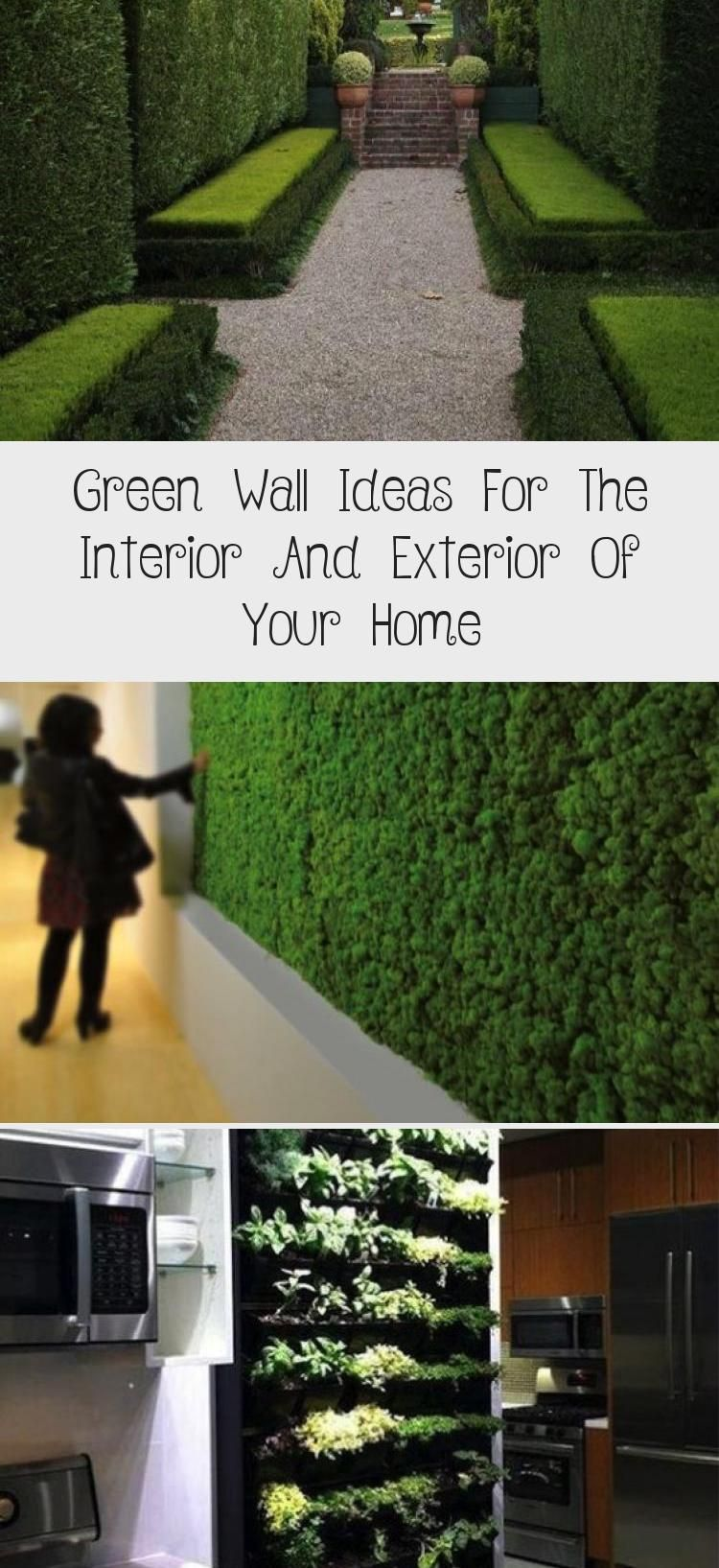 Garten Gartengestaltung Ideen Den Garten Zu Gestalten Garten Gartnern Gartenideen Gartengestaltung In 2020 Green Wall Green Wall Design Interior And Exterior