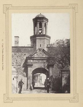 Cape Town--Entrance to Castle. | South Africa by The National Archives UK