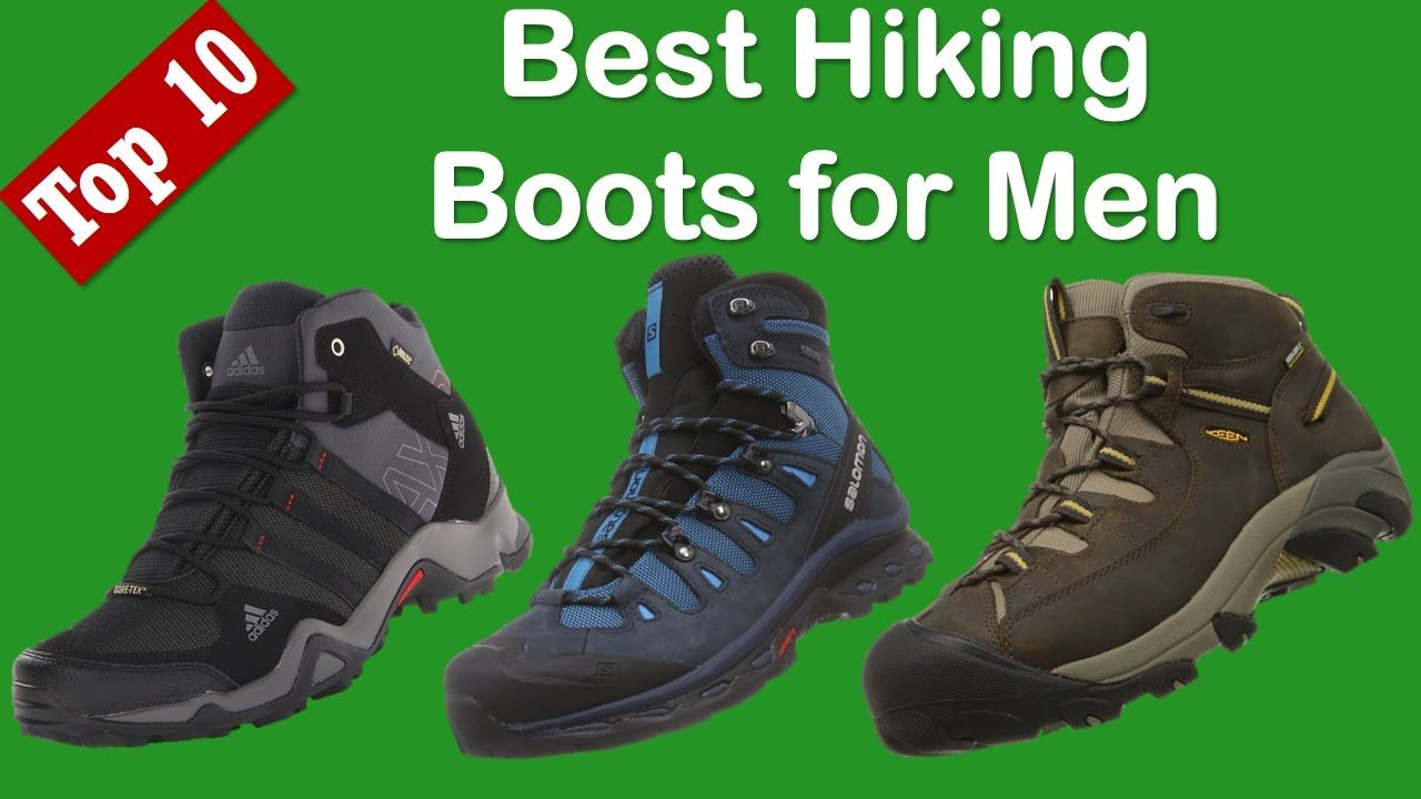 Best Hiking Boots For Men Reviews 2017