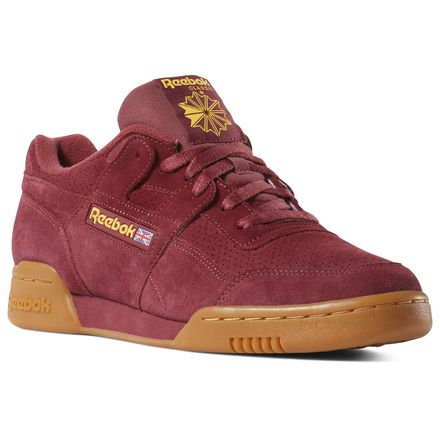 reebok workout plus burgundy