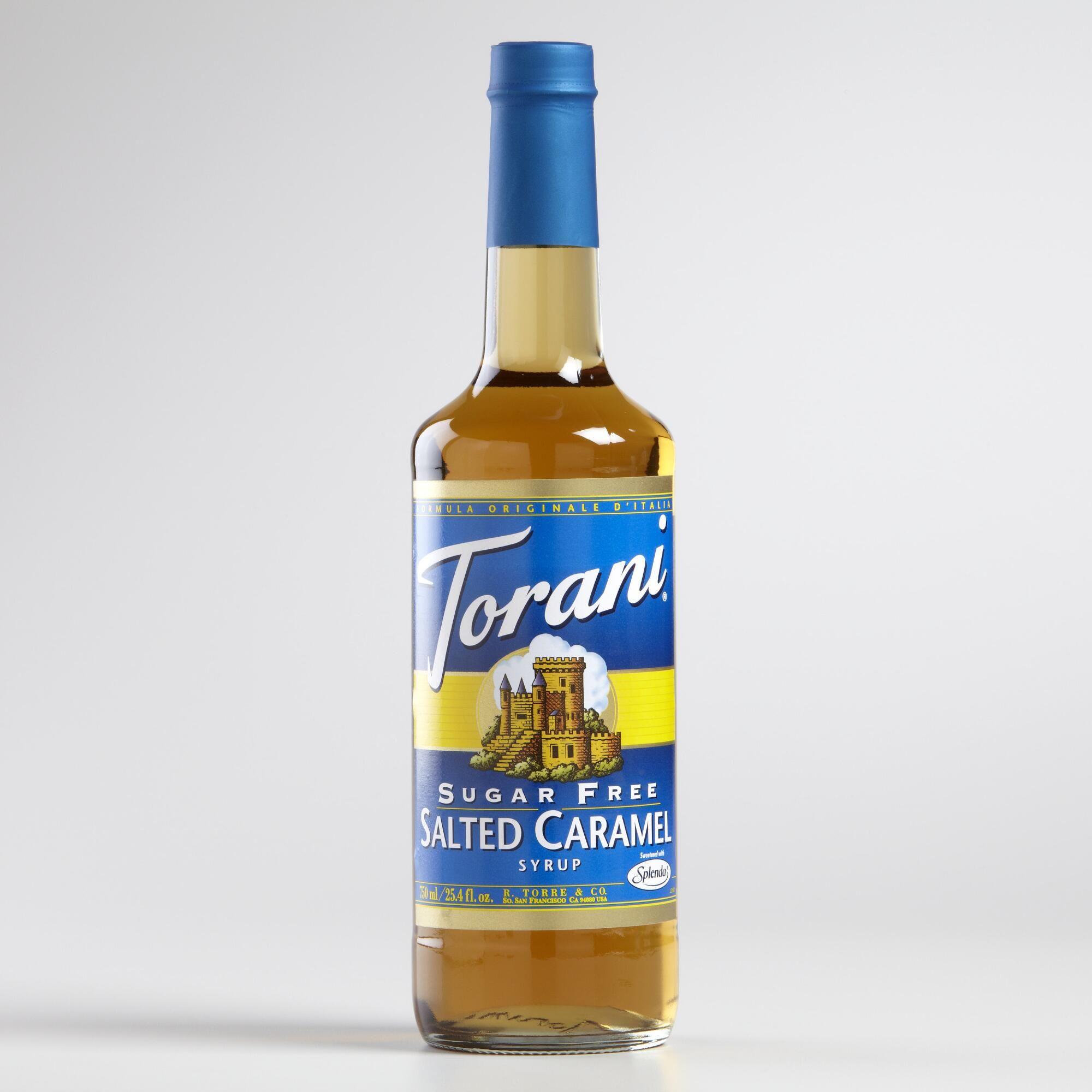 Torani Sugar Free Salted Caramel Syrup Sugar free