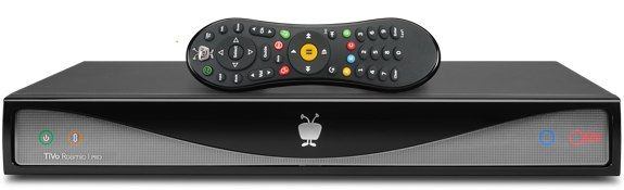 TiVo Roamio: Up to 6 tuners, 450 hours HD storage, remote streaming