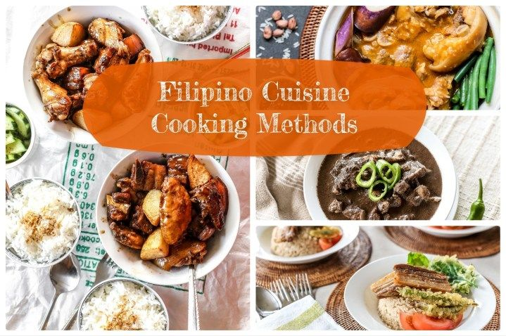 Photo of Filipino Cuisine Cooking Methods – Ang Sarap