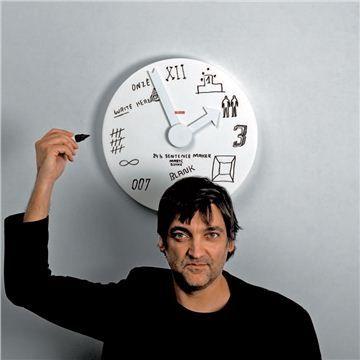 Alessi Blank Wall Clock Contemporary Clocks Clock Wall Clock
